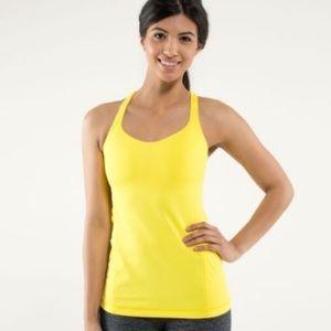 Lululemon Free To Be Yellow tank top